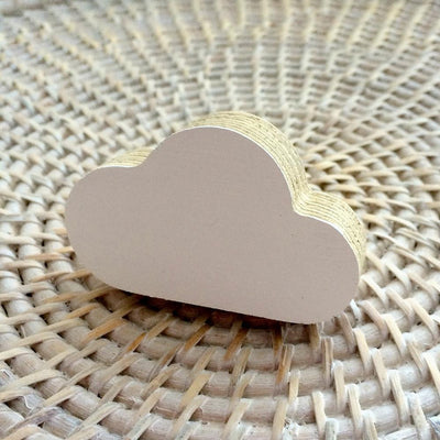 Cloud Wall Hook - White - Wiggles Piggles  - 2