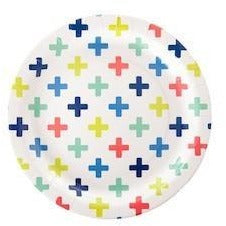 Crosses Paper Plates - Wiggles Piggles
