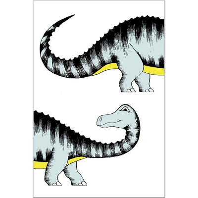 Chasing My Tail Diplodocus Print - Wiggles Piggles  - 2