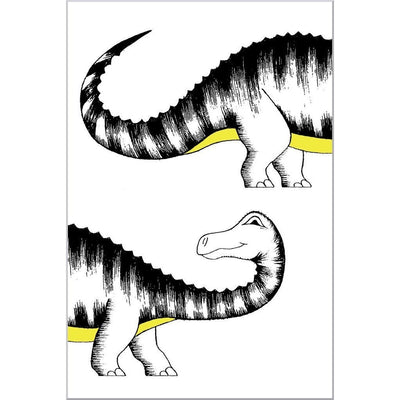 Chasing My Tail Diplodocus Print - Wiggles Piggles  - 3