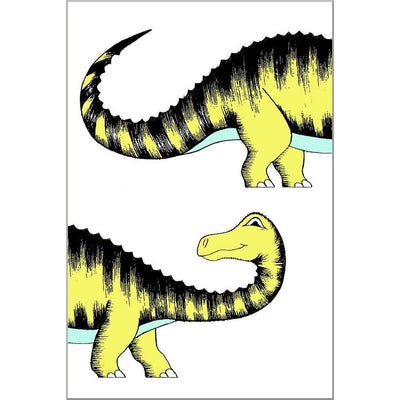 Chasing My Tail Diplodocus Print - Wiggles Piggles  - 1