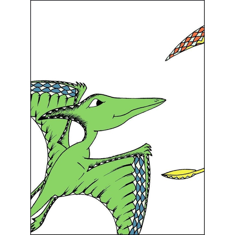 Flying Pterodactyl 3 Print Pack - Wiggles Piggles  - 1