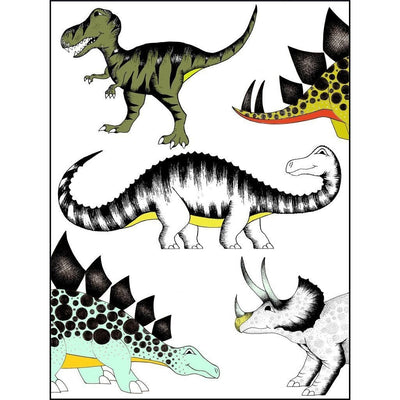 The Land of Dinosaurs Print - Wiggles Piggles  - 2
