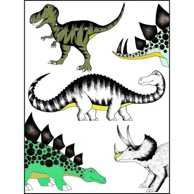 The Land of Dinosaurs Print - Wiggles Piggles  - 1