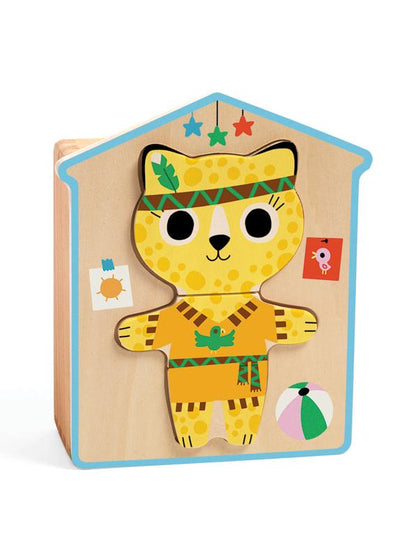 Djeco Wooden Dress Up Set