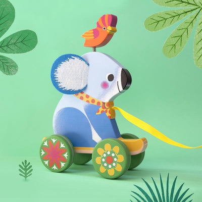Djeco Otto Koala Pull Along Toy (Damaged Packaging)