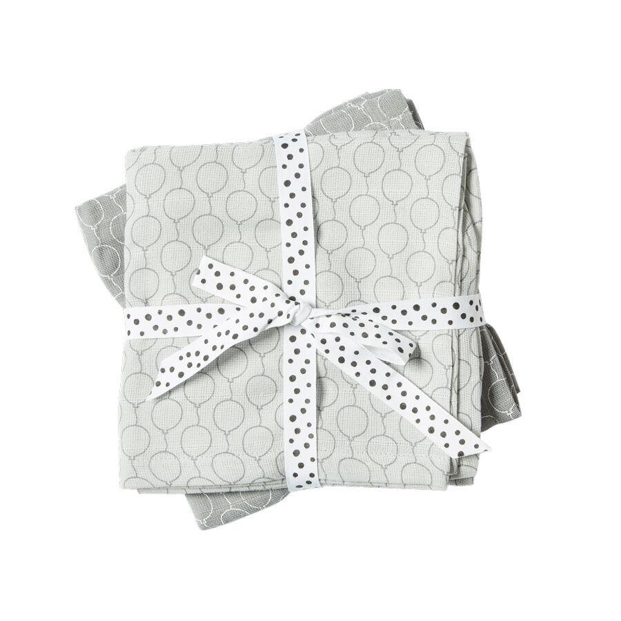 Done by Deer Balloon 2 Pack Swaddle (Grey)