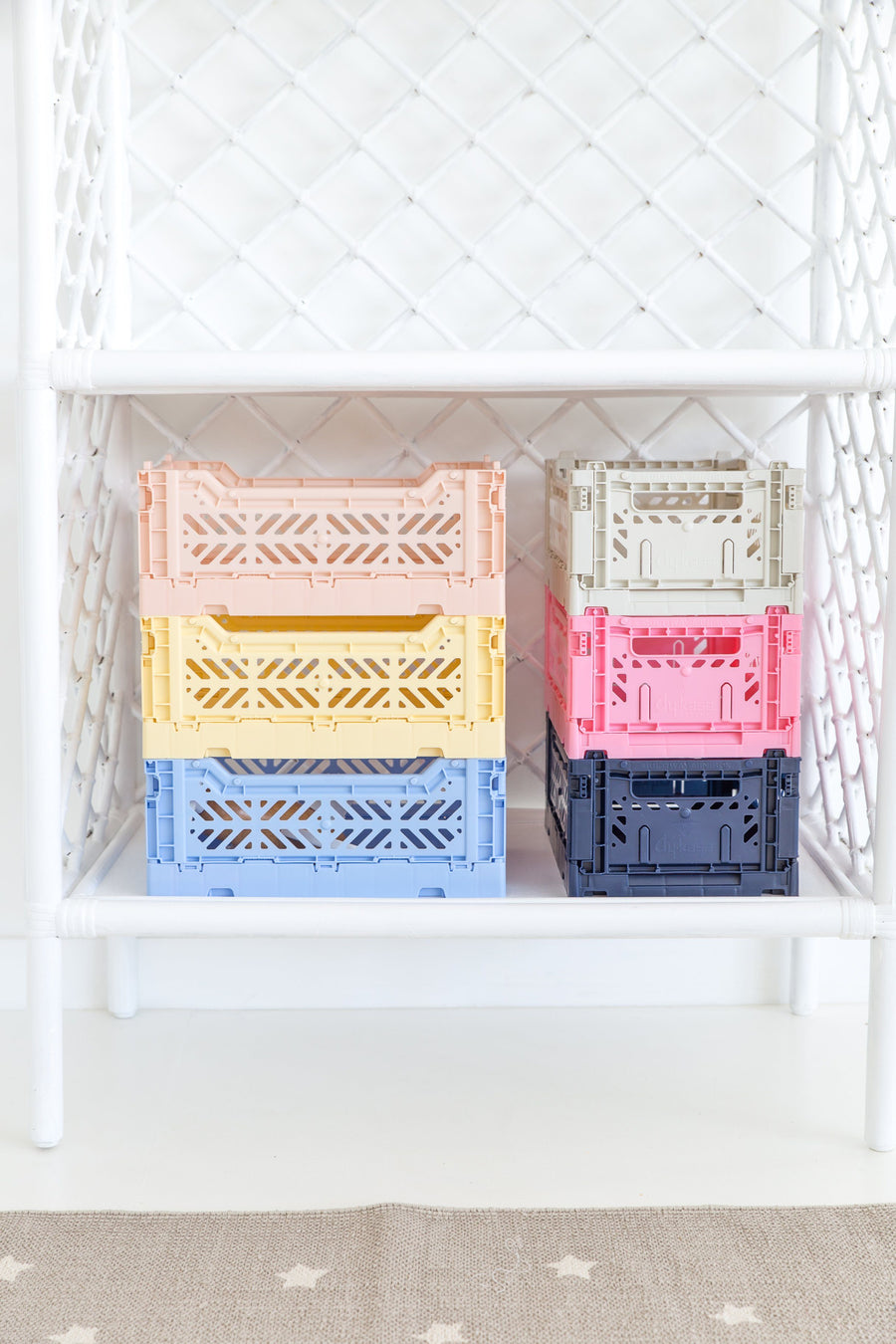 Eef Lillemor Midi Folding Crate (Baby Blue) - PREORDER JANUARY
