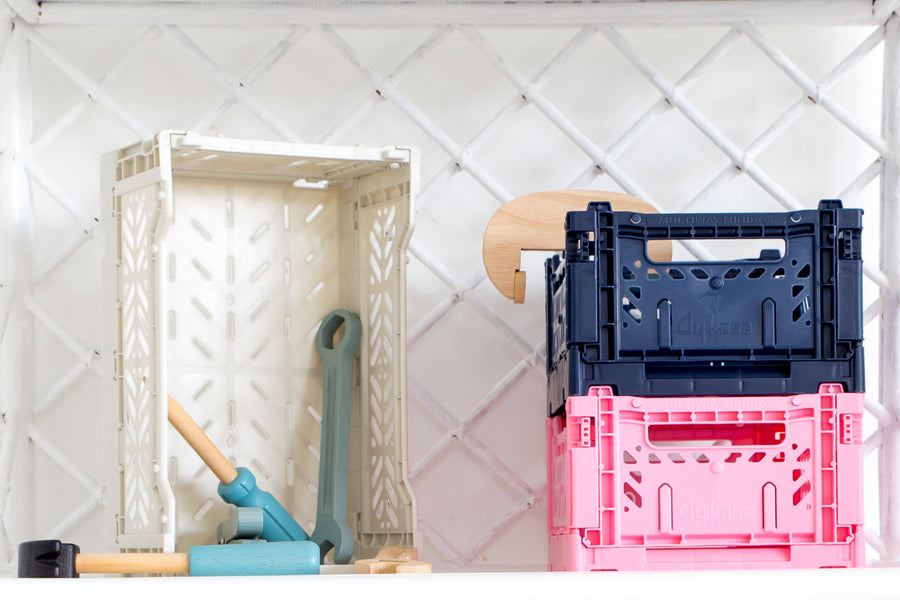 Eef Lillemor Mini Folding Crate (Baby Pink) - PREORDER JANUARY