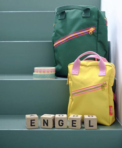 Engel. Zipper Backpack (Green)