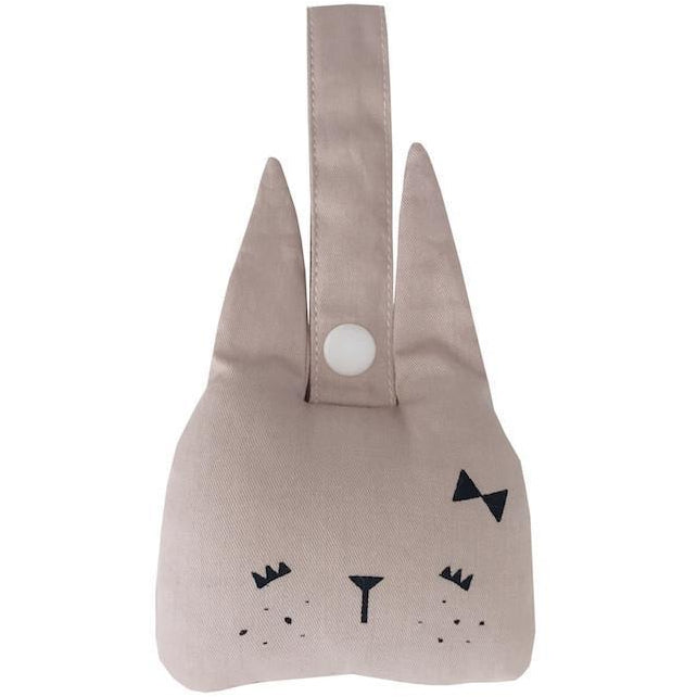 Fabelab Animal Rattle - Bunny