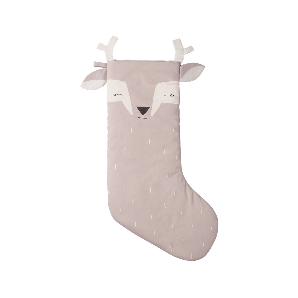 Fabelab Christmas Stocking Lovely Deer (Mauve)