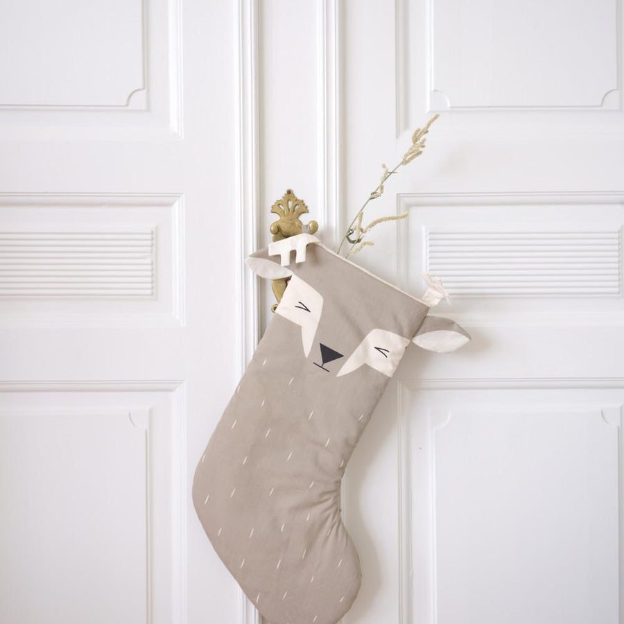 Fabelab Christmas Stocking Sleepy Deer (Fawn)