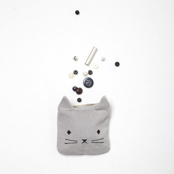 Fabelab Coin Pouch - Cuddly Cat (Preorder end July)