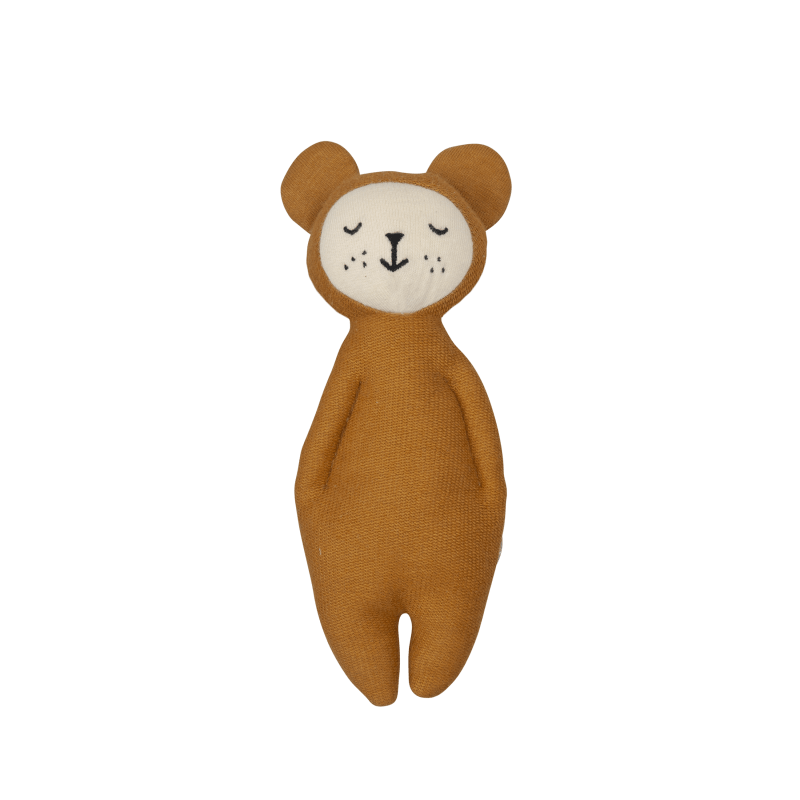 Fabelab Soft Rattle (Bear)