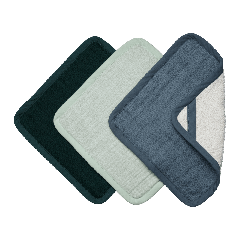 Fabelab Washcloth Three Pack (Coastline)