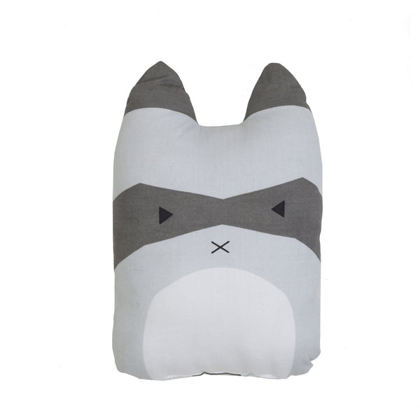 Fabelab Rascal Racoon Cushion (PREORDER) - Wiggles Piggles