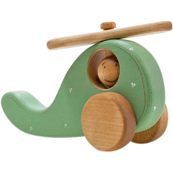 Friendly Toys Wooden Helicopter
