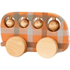 Friendly Toys Wooden Check Bus