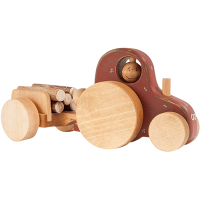 Friendly Toys Wooden Tractor