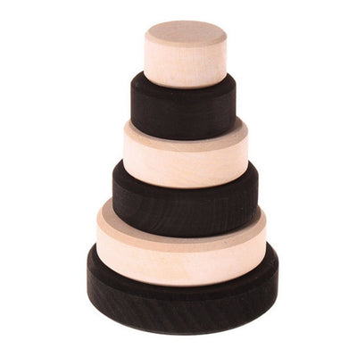 Grimm's Small Stacking Monochrome Tower