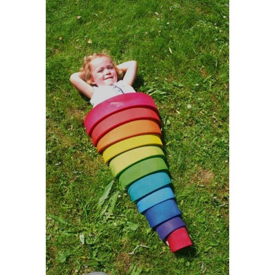 Grimm's Stacking Rainbow Large