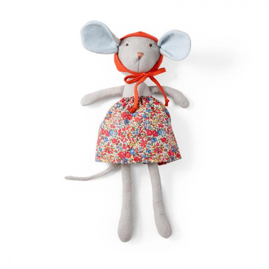 Hazel Village Catalina Mouse in Hedgerow Skirt & Bonnet