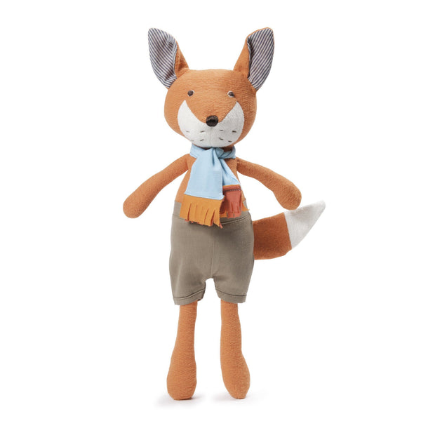 Hazel Village Reginald Fox in Shorts & Scarf (PREORDER) - Wiggles Piggles