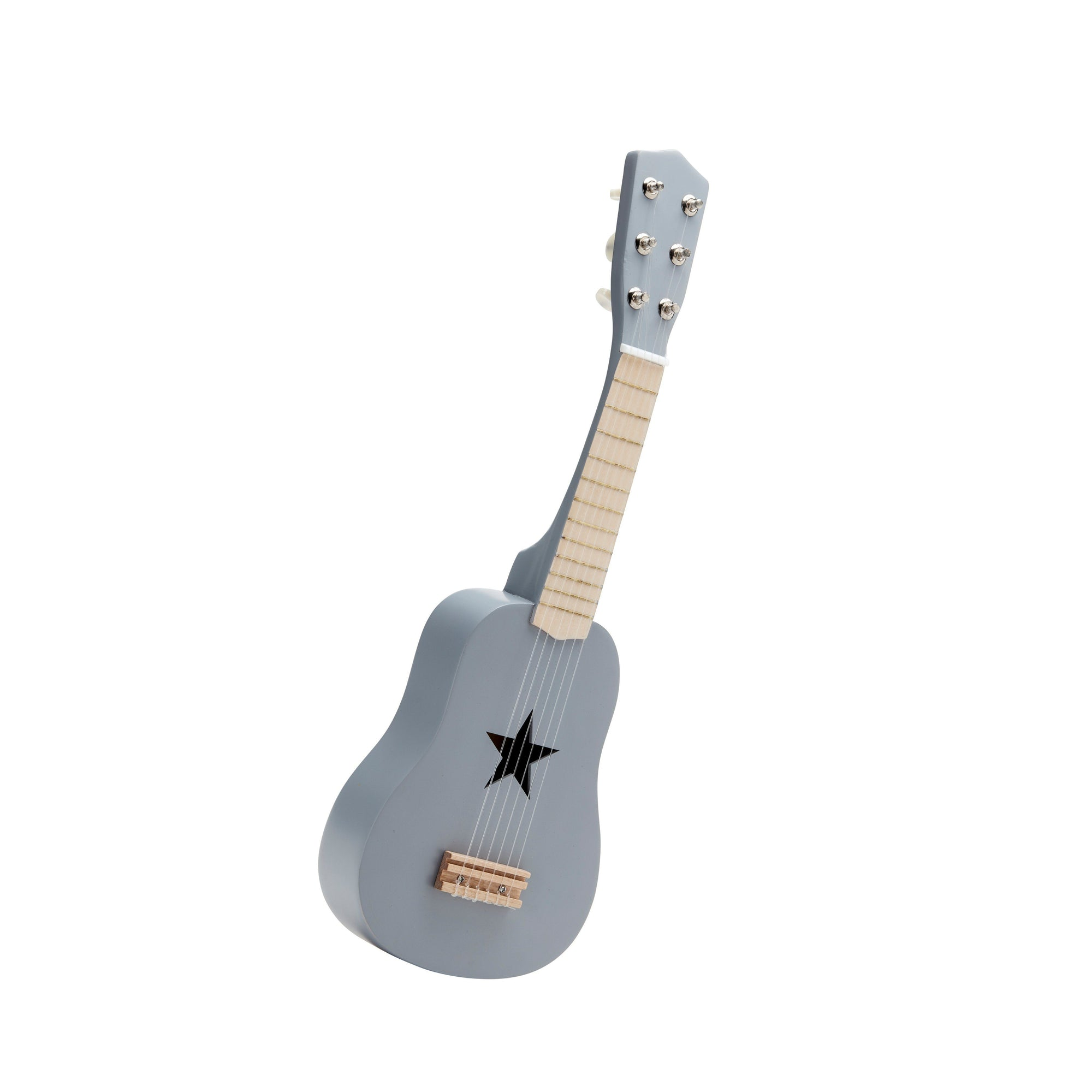 Kids Concept Guitar Grey Wooden Toy
