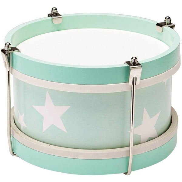 Kids Concept Star Wooden Drum Set - Mint - Wiggles Piggles