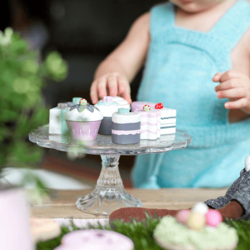 Kids Concept Wood Toy Cakes - Wiggles Piggles