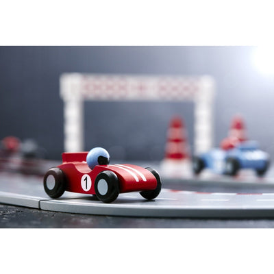 Kids Concept Racing Car Set - Blue - Wiggles Piggles  - 3