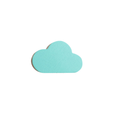 Cloud Wall Hook - Mint
