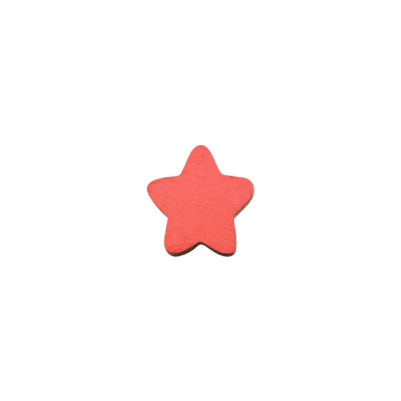 Star Wall Hook - Red