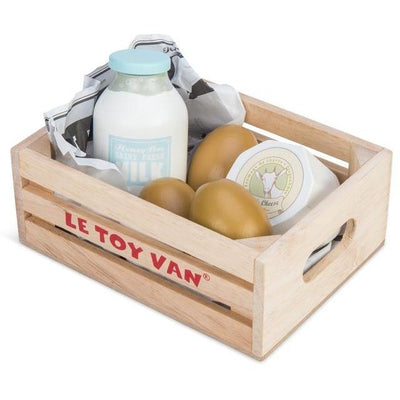 Le Toy Van Eggs & Dairy In a Crate
