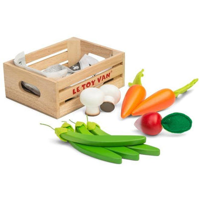 Le Toy Van Harvest Vegetables in a Crate