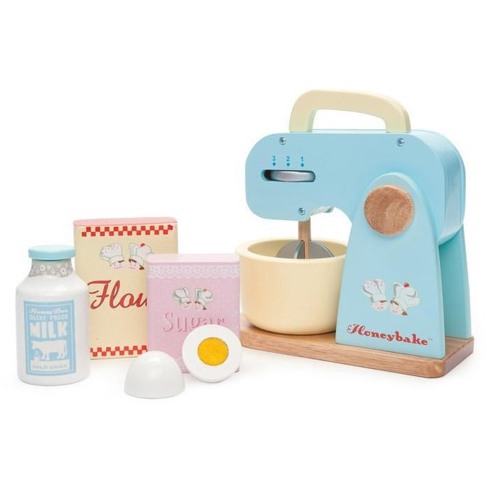 Le Toy Van Honeybake Mixer Set - Wiggles Piggles  - 1