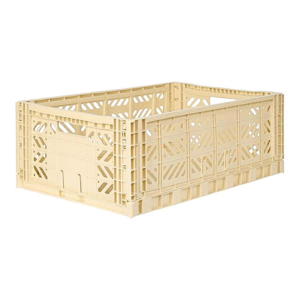 Lillemor Lifestyle Maxi Folding Crate (Banana)