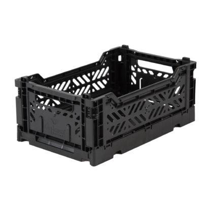 Lillemor Lifestyle Mini Folding Crate (Black)
