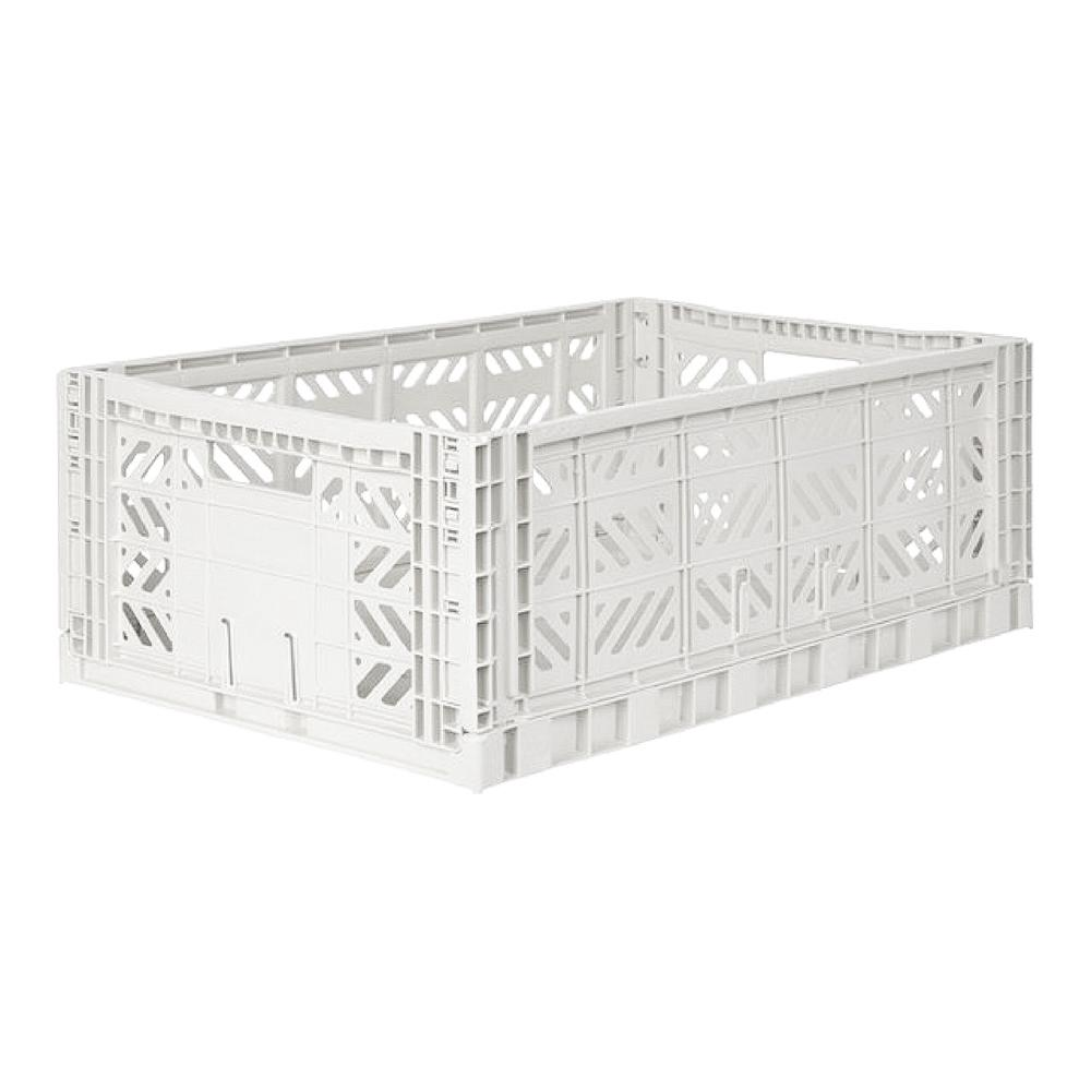 Lillemor Lifestyle Maxi Folding Crate (Coconut Milk)
