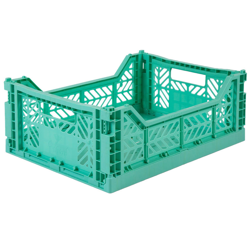 Lillemor Lifestyle Midi Folding Crate (Mint)