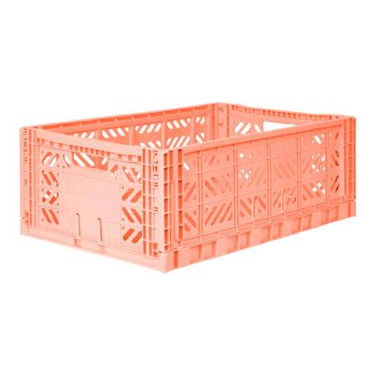Aykasa Maxi Folding Crate (Salmon)