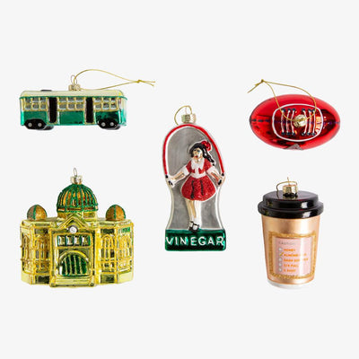 Make Me Iconic Christmas Glass Ornaments (Melbourne)