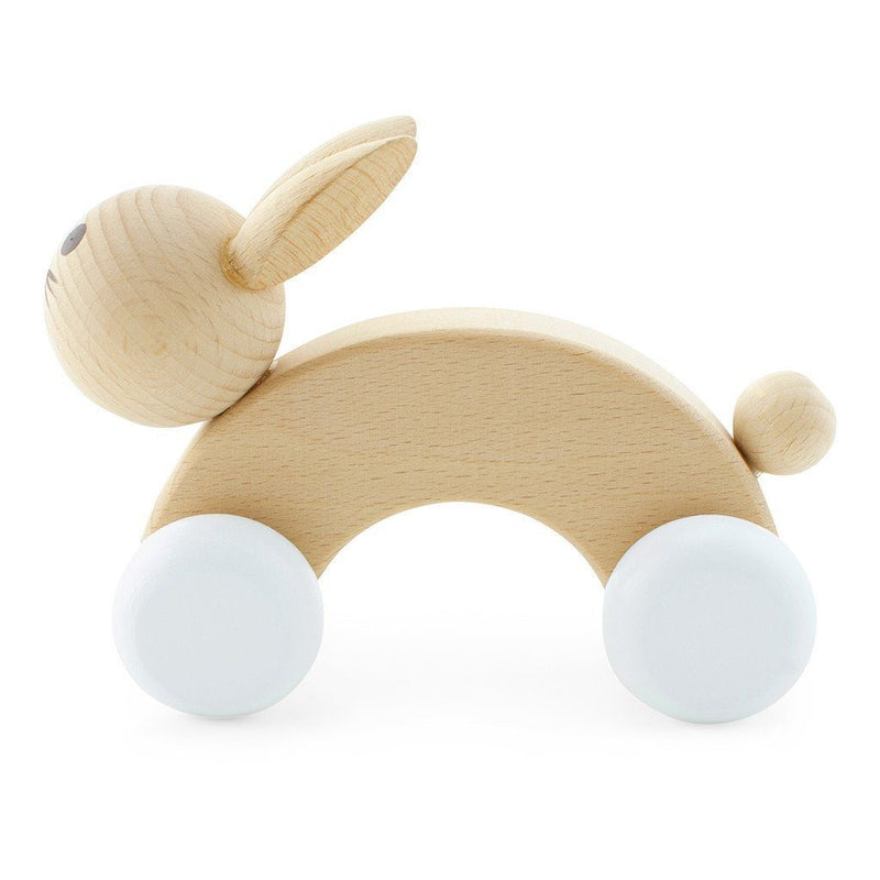 Wooden Push Along Rabbit