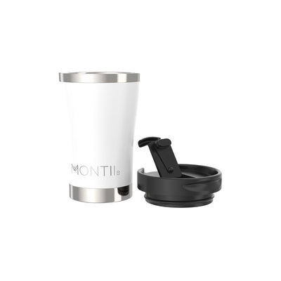 MontiiCo Regular Coffee Cup (White)