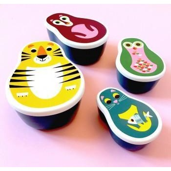 Omm Design Animal Nesting Lunch Boxes