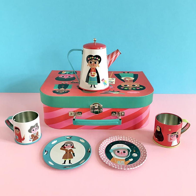 Omm Design Feminist Tea Tin Set