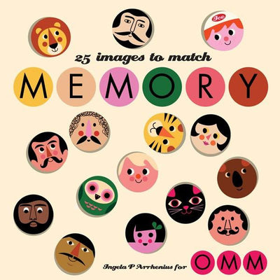 Omm Design Memory Game Series 2 - Wiggles Piggles  - 1