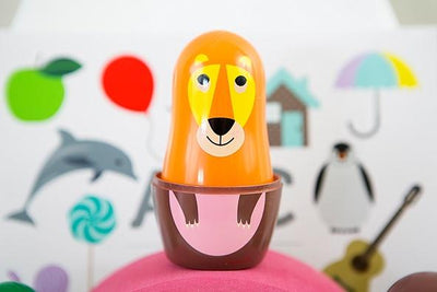 OMM Design Animal Series Nesting Dolls - Series 1