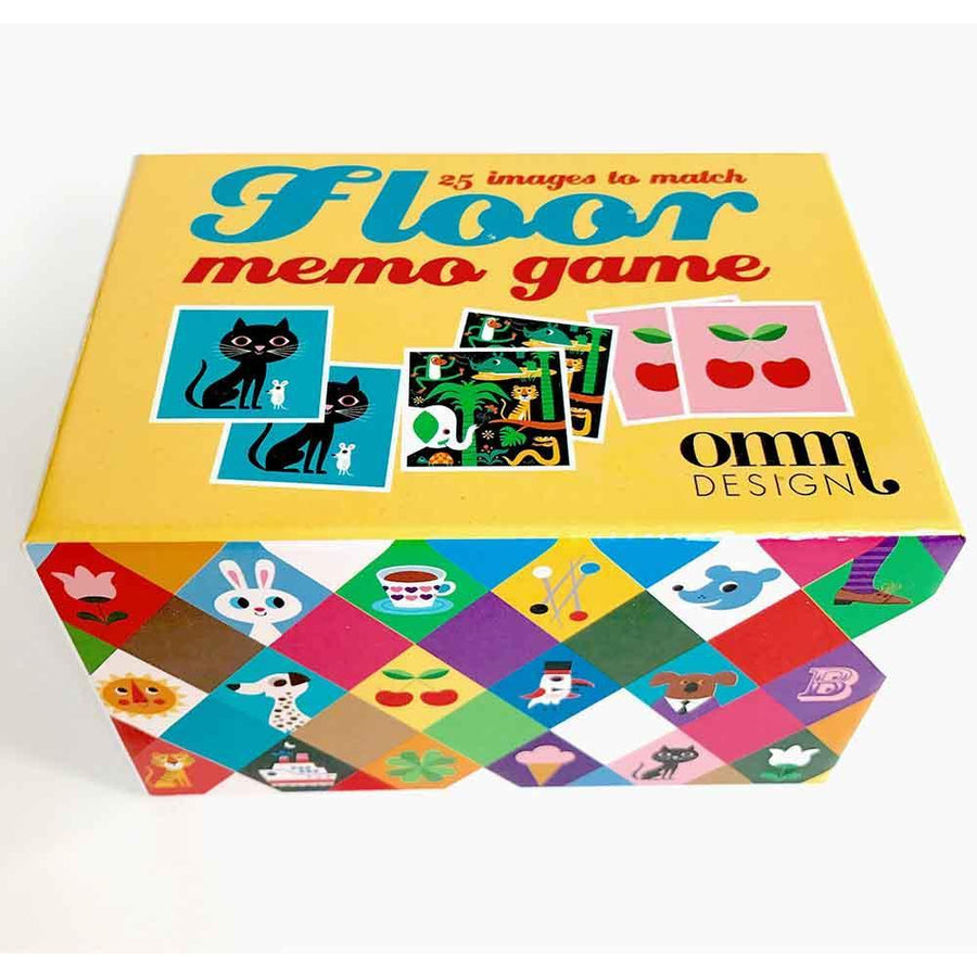 Omm Design Square Floor Memory Game